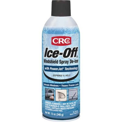 CRC Ice-Off 12 Oz. Aerosol Windshield  De-Icer