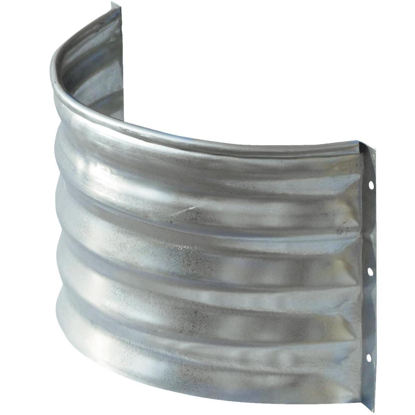 Lux-Right 12 In. x 20 In. Galvanized Foundation Vent Area Wall Image 1