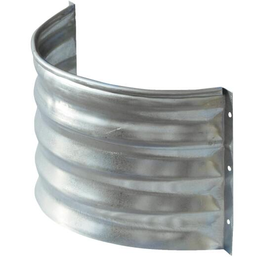 Lux-Right 12 In. x 20 In. Galvanized Foundation Vent Area Wall
