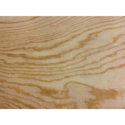Universal Forest Products 3/8 In. x 24 In. x 24 In. BCX Pine Plywood Panel