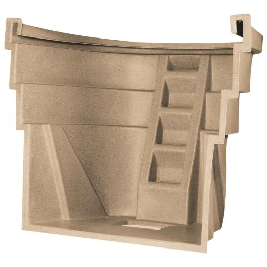 Wellcraft 60 In. x 48 In. Egress UV-Protected Polyethylene Sandstone Window Well