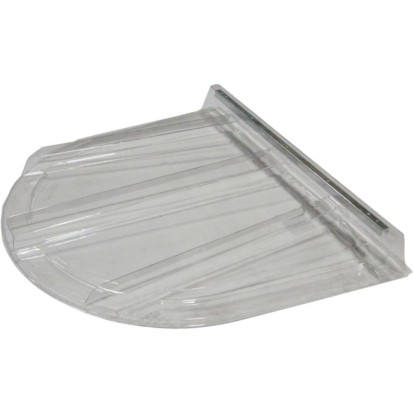 Wellcraft 75 In. x 46 In. Polycarbonate Window Well Flat Cover Image 1