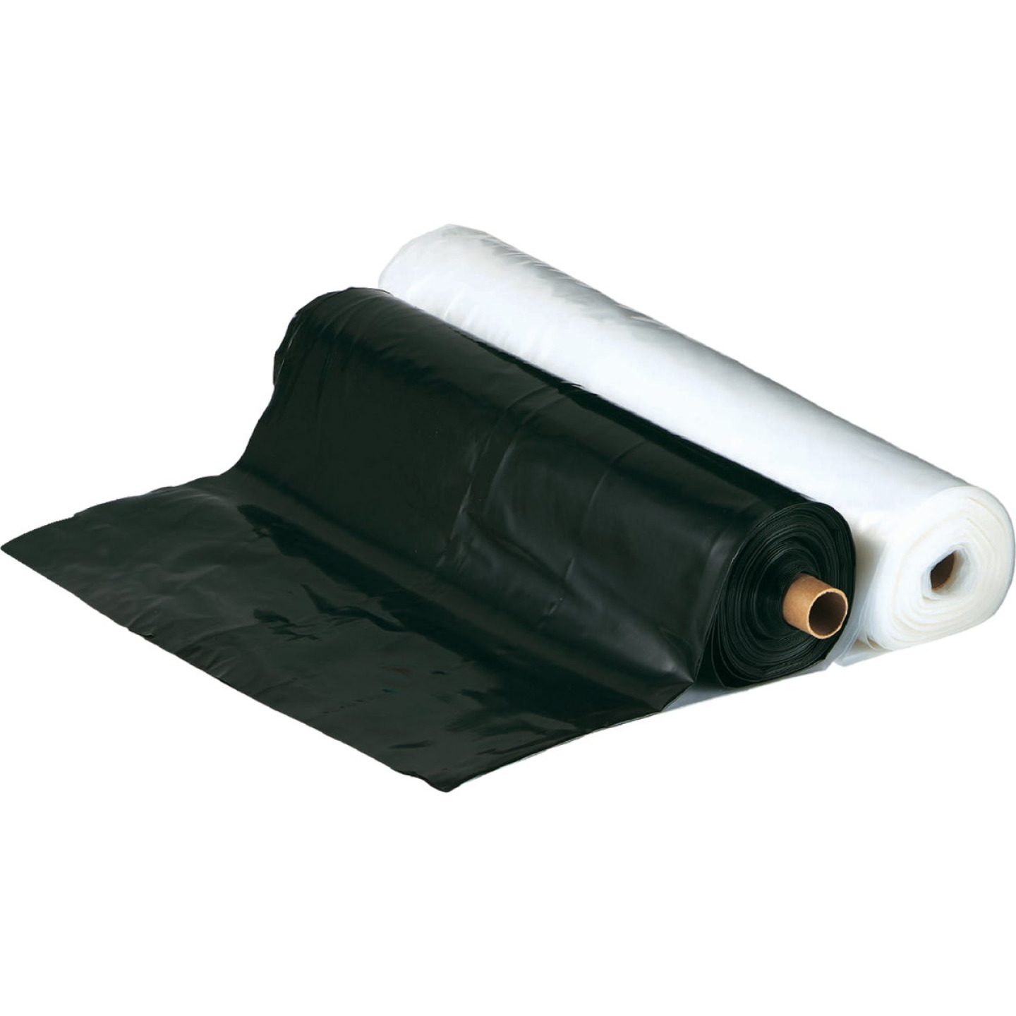 Film-Gard 8 Ft. X 100 Ft. Black 4 Mil. Polyethylene Sheeting Image 2