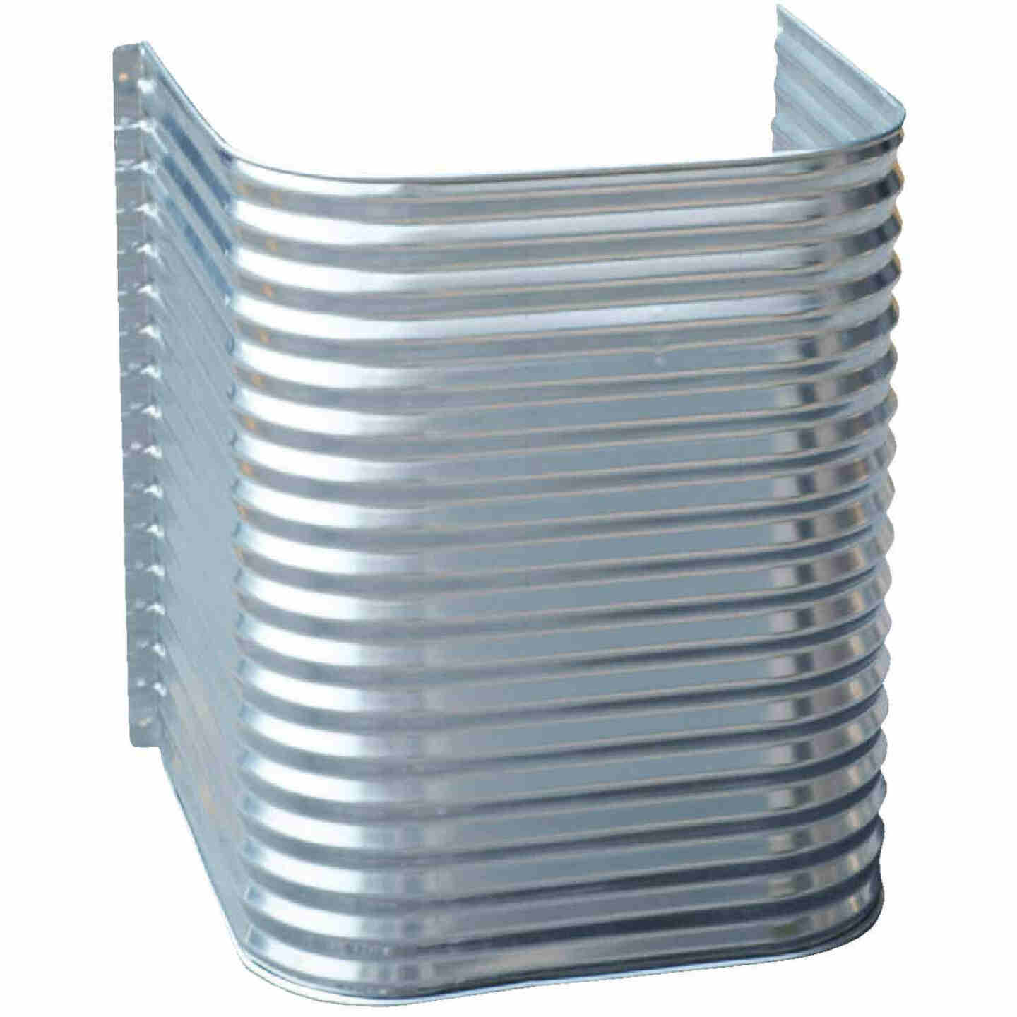 Lux-Right 48 In. x 42 In. Egress Galvanized Window Well Image 1