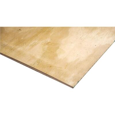 Universal Forest Products 3/4 In. x 24 In. x 48 In. BCX Pine Plywood