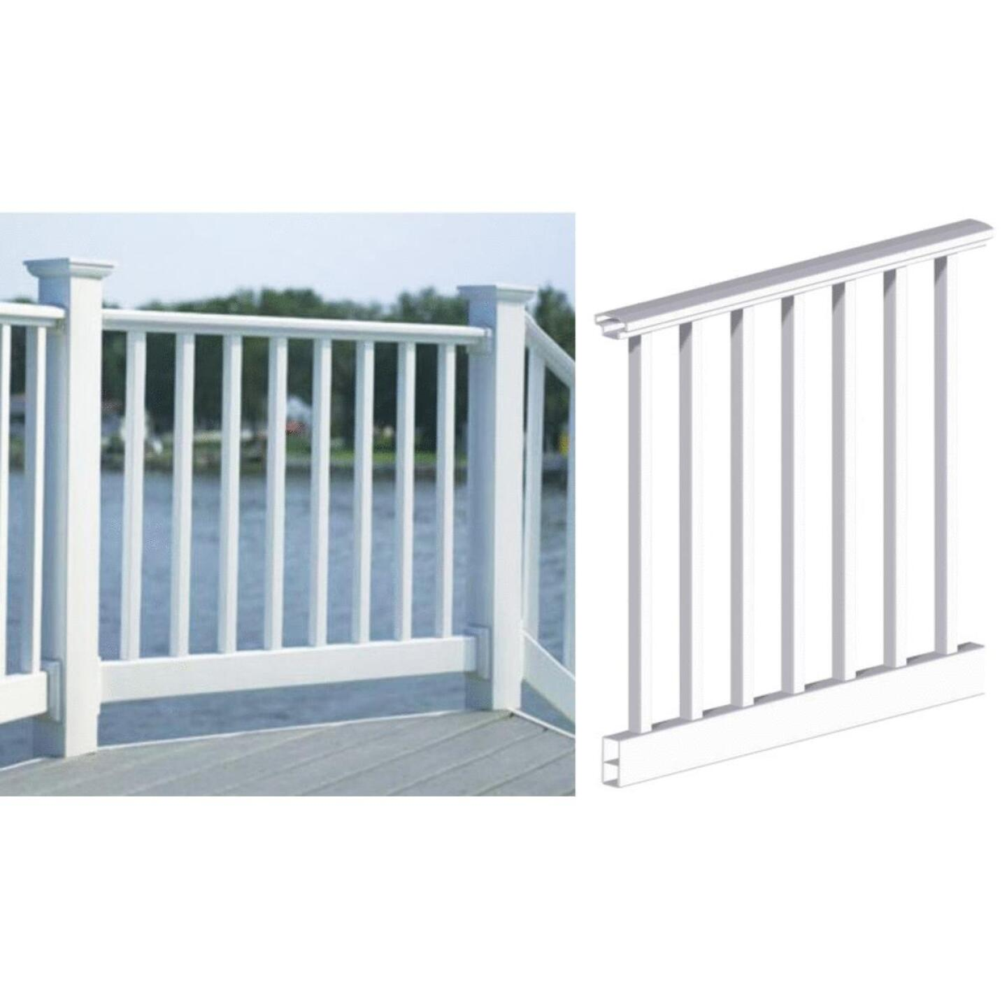 RDI 36 In. H. x 6 Ft. L. Vinyl Original Railing Image 1