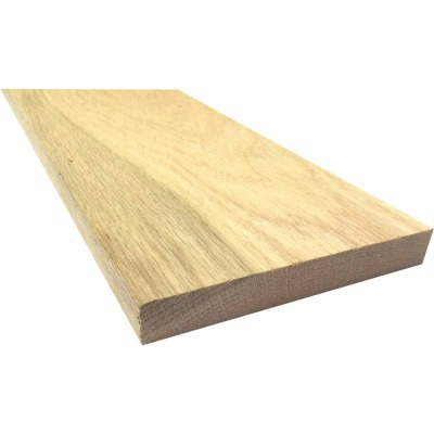 Waddell 1 In. x 6 In. x 6 Ft. Red Oak Board
