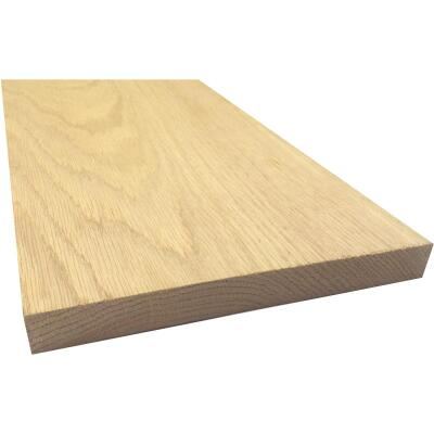 Waddell 1 In. x 8 In. x 4 Ft. Red Oak Board