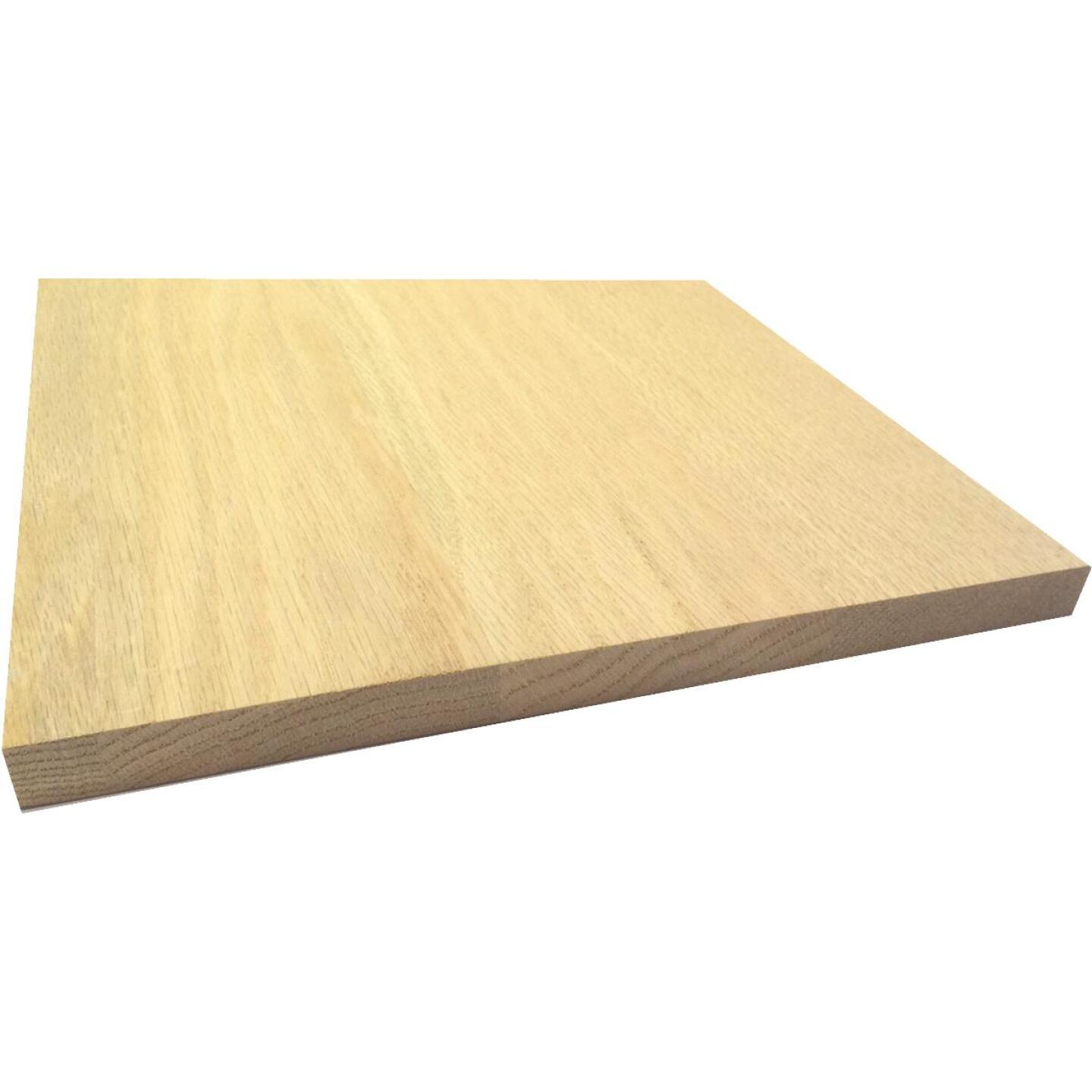 Waddell 1 In. x 12 In. x 4 Ft. Red Oak Board Image 1