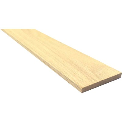 Waddell 1/4 In. x 4 In. x 2 Ft. Red Oak Board