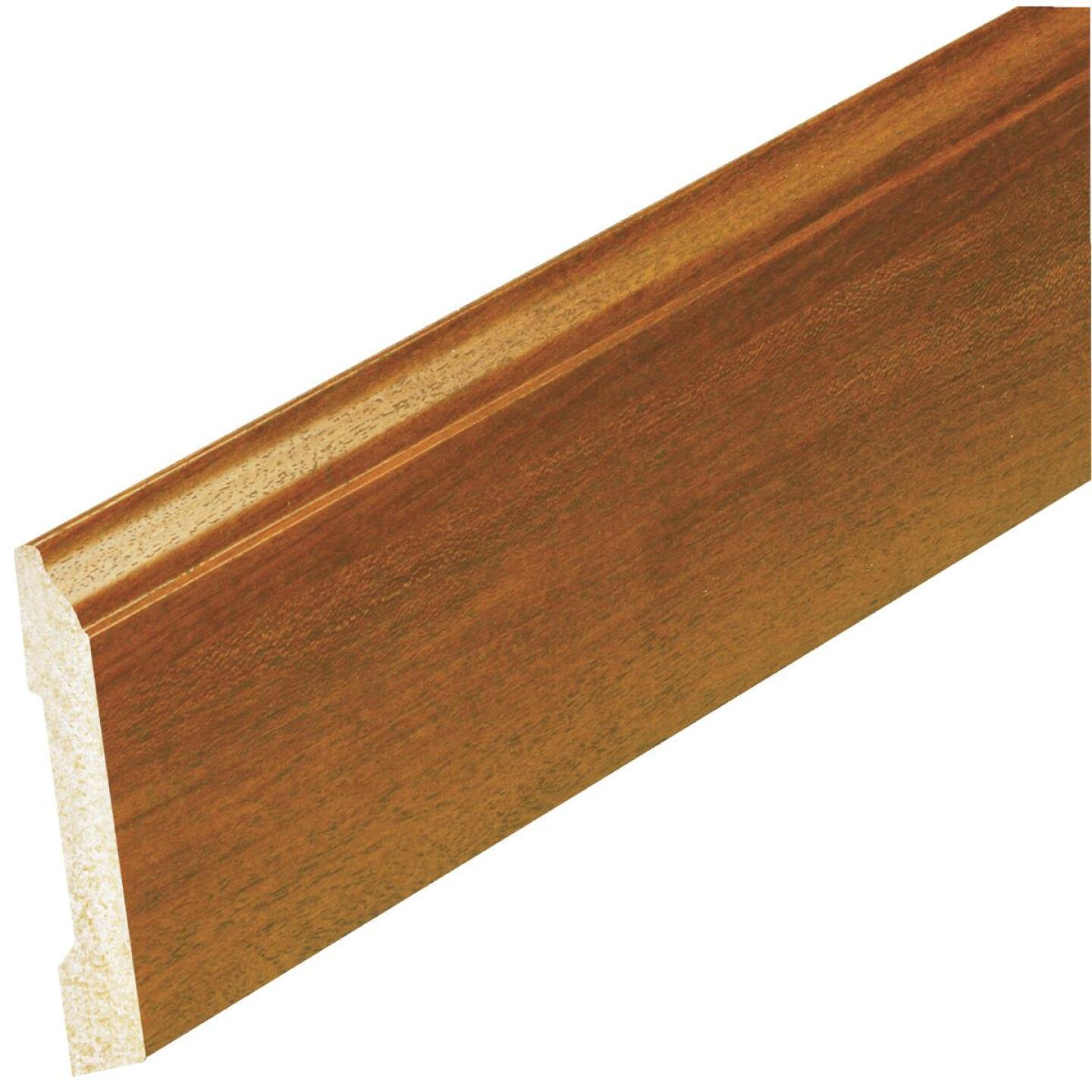 Inteplast Building Products 1/2 In. W. x 3-7/16 In. H. x 8 Ft. L. Independence Cherry Polystyrene Colonial Base Molding Image 2