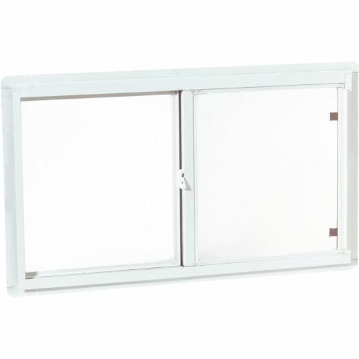 Croft 46 In. W. x 22 In. H. White Insulated Vinyl Horizontal Sliding Window