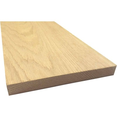 Waddell 1 In. x 8 In. x 8 Ft. Red Oak Board