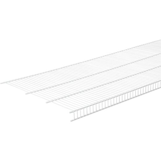 ClosetMaid 6 Ft. W. x 20 In. D. Close Mesh Ventilated Closet Shelf, White