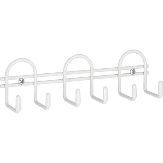Closetmaid White Utility Hook Rail