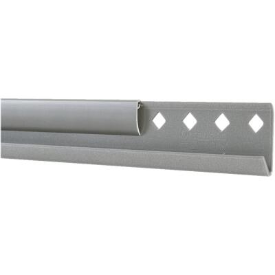 FreedomRail 60 In. Nickel Horizontal Hanging Rail with Cover