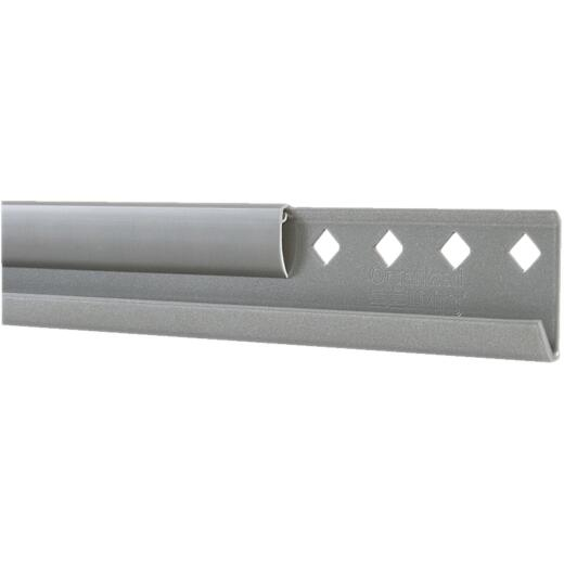 FreedomRail 78 In. Nickel Horizontal Hanging Rail with Cover