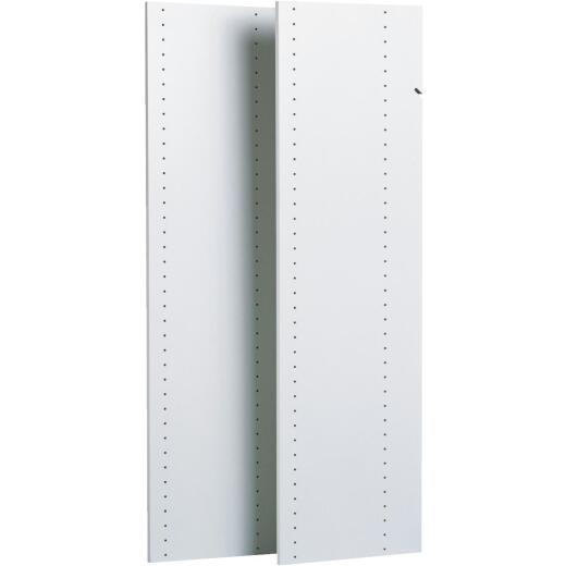 Easy Track 72 In. Closet Vertical Panel (2-Count)