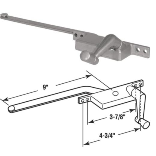 Prime-Line Right Hand Aluminum Casement Operator