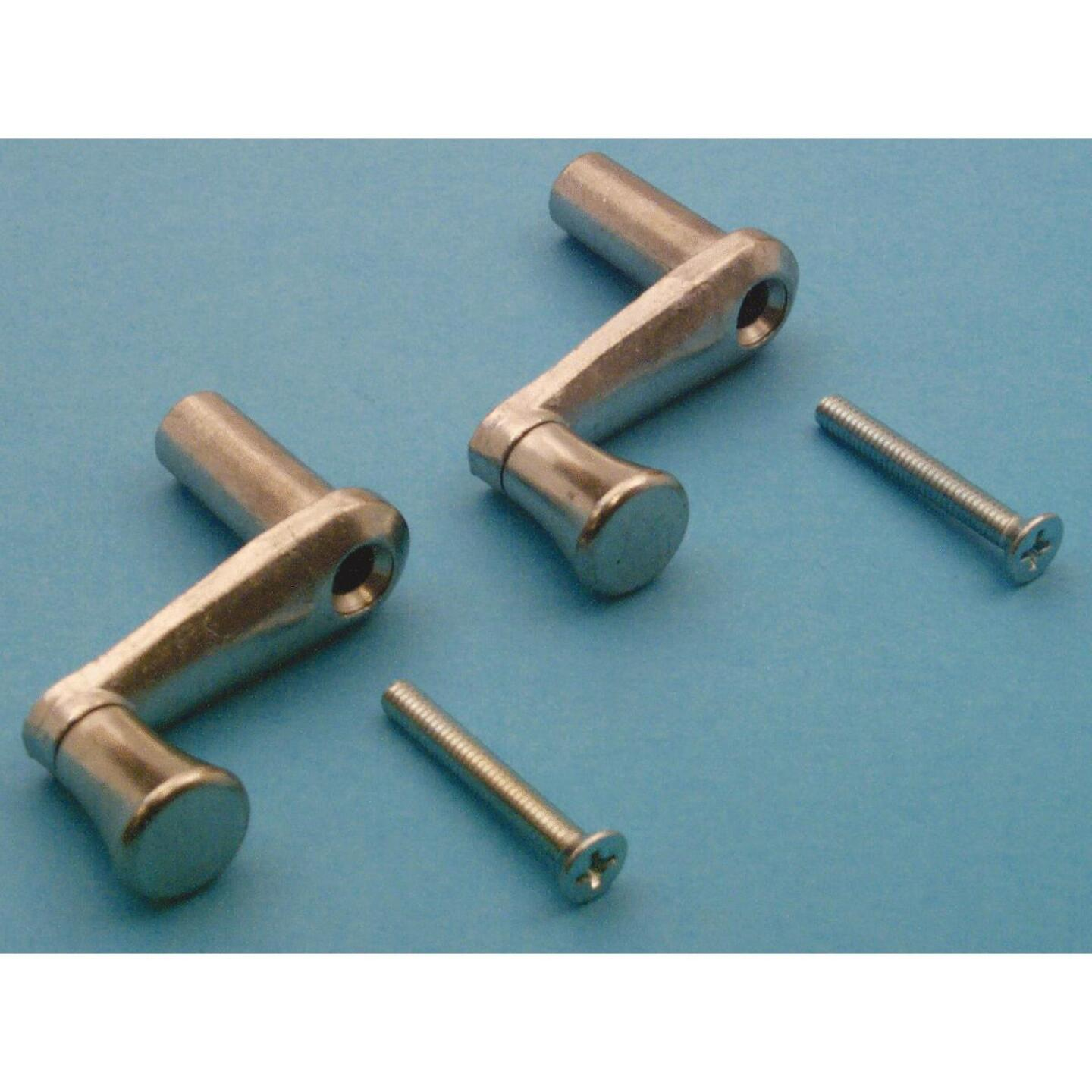 Slide-Co 1 In. Aluminum Casement Window Crank Handle Image 2