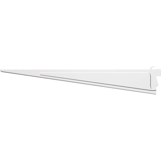 Closetmaid ShelfTrack 16 In. White Shelf Bracket