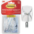 Command Clear Wire Adhesive Hook (9 Pack) Image 1