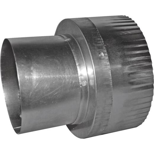 Dundas Jafine 3 In. Dia To 4 In. Dia Aluminum Vent Increaser