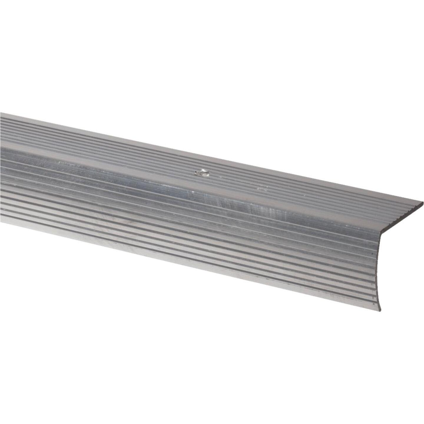 Do it Satin Silver 1-1/8 In. W x 36 In. L Aluminum Stairnose Image 1