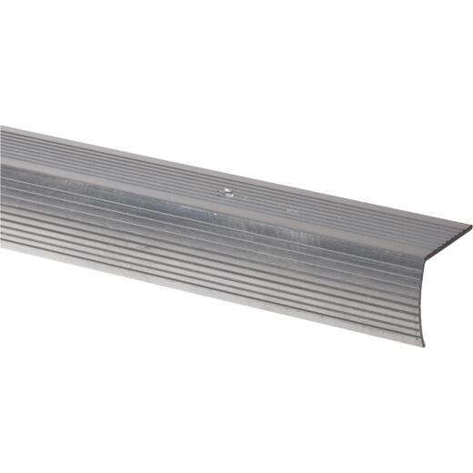Do it Satin Silver 1-1/8 In. W x 36 In. L Aluminum Stairnose