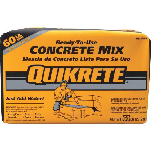 Quikrete 60 Lb. Ready to Use Concrete Mix