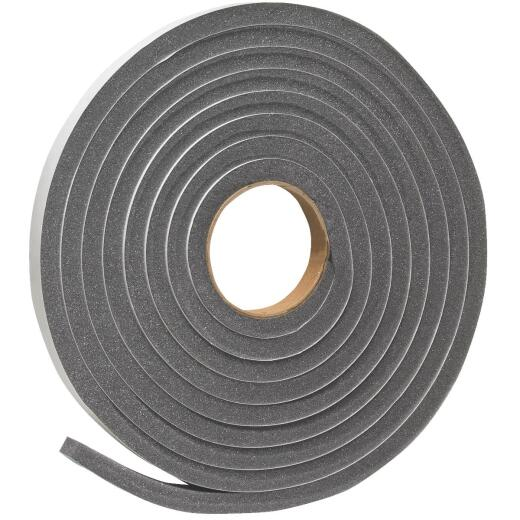 "Do it 3/4"" W x 1/2"" T x 17' L Charcoal Foam Weatherstrip Tape"