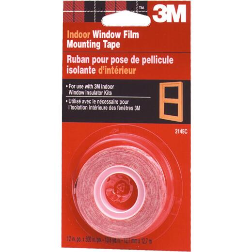 3M 1/2 In. x 500 In. Indoor Window Film Tape