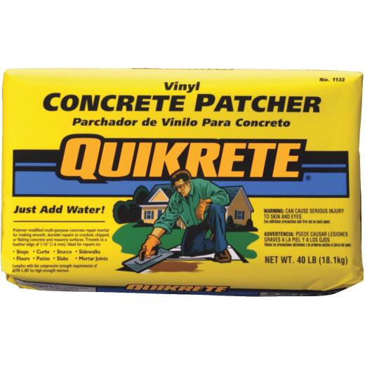 Quikrete 40 Lb Ready-to-Use, Gray Concrete Patch