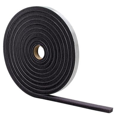 "M-D 3/4"" W x 1/2"" T x 17' L Gray Foam Weatherstrip Tape"