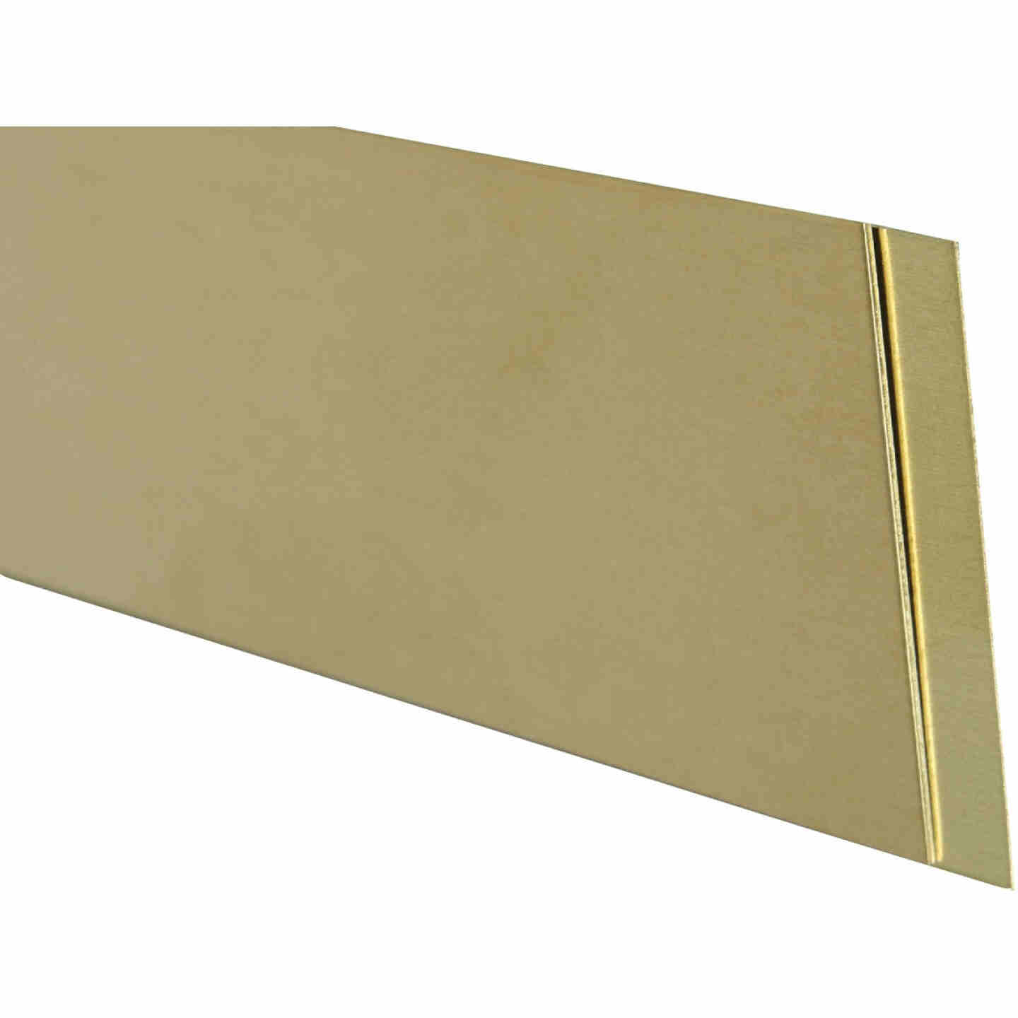 K&S Brass 2 In. x 12 In. Strip Stock Image 1