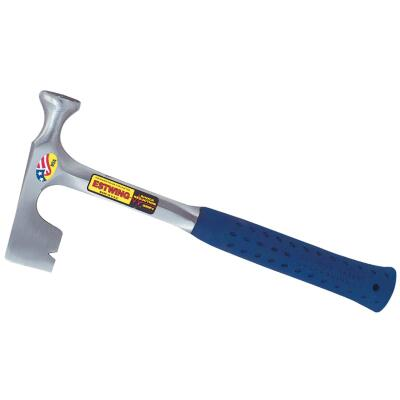 Estwing 14 Oz. Steel Drywall Hammer with 14-1/2 In. Rubber Grip Handle