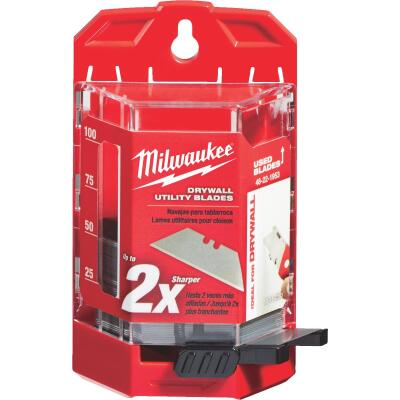 Milwaukee Drywall 2-Point 2-3/8 In. Utility Knife Blade (50-Pack)