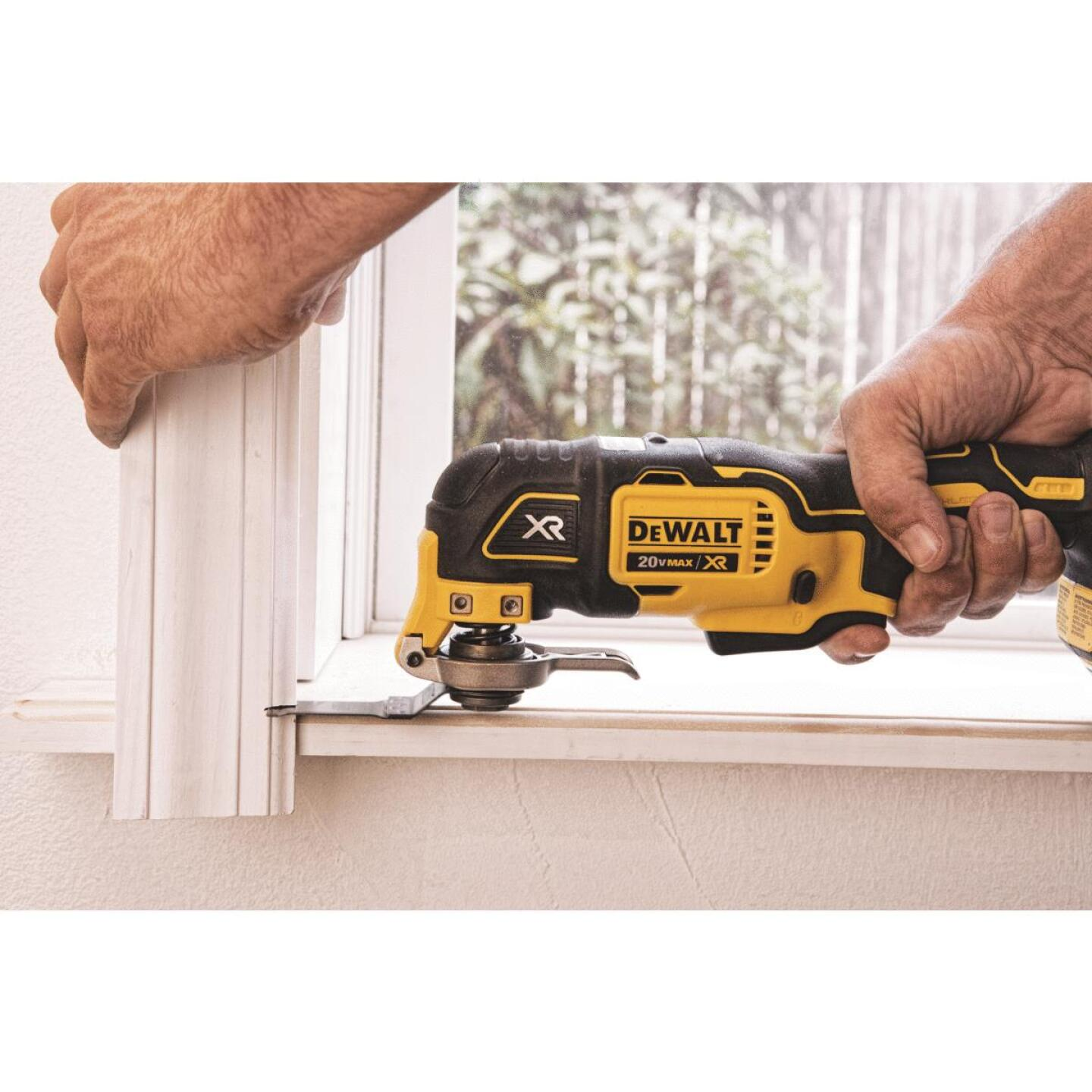 DeWalt 20 Volt MAX XR Lithium-Ion Brushless Cordless Oscillating Tool (Bare Tool) Image 5