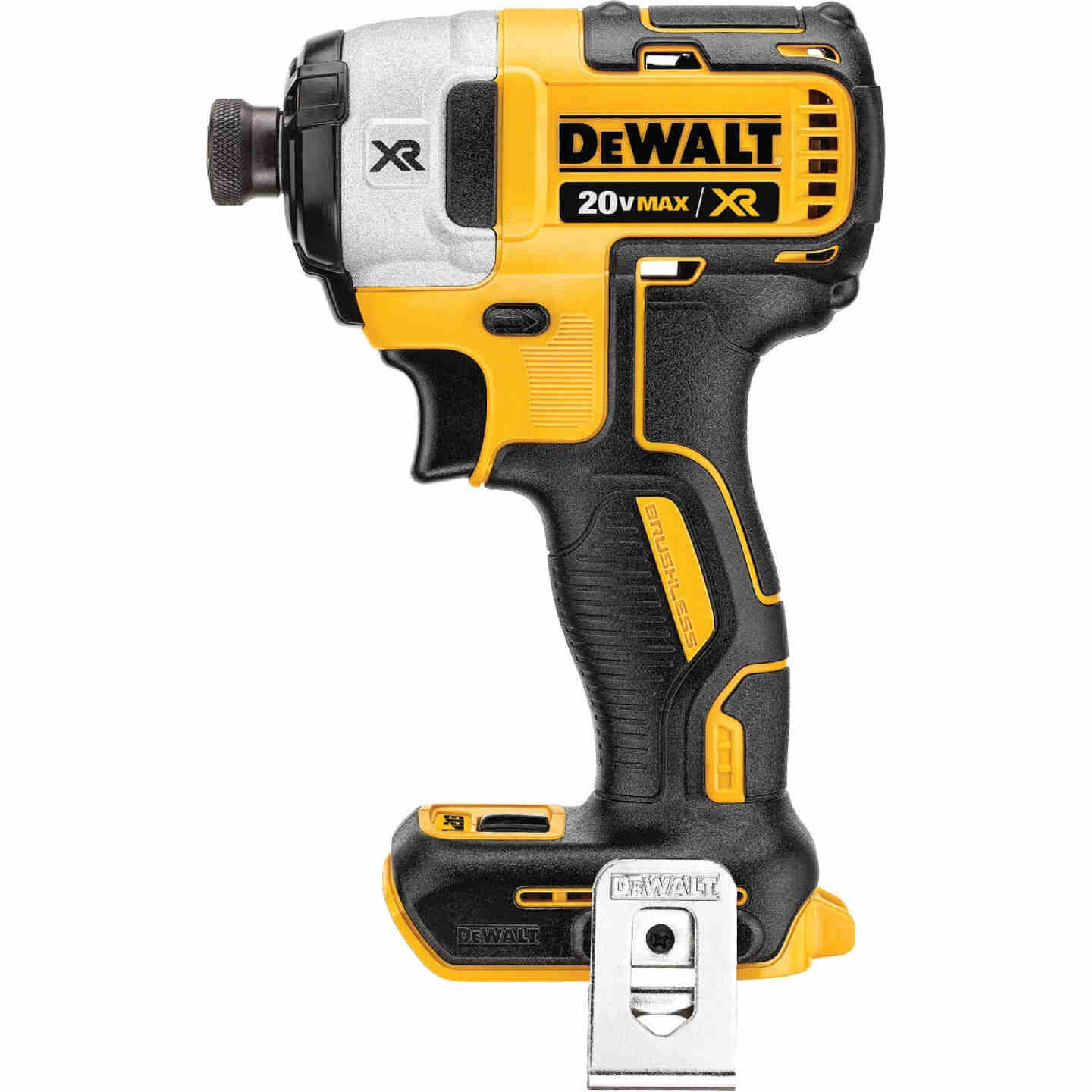 DeWalt 20 Volt MAX XR Lithium-Ion Brushless 1/4 In. Hex Cordless Impact Driver (Bare Tool) Image 1
