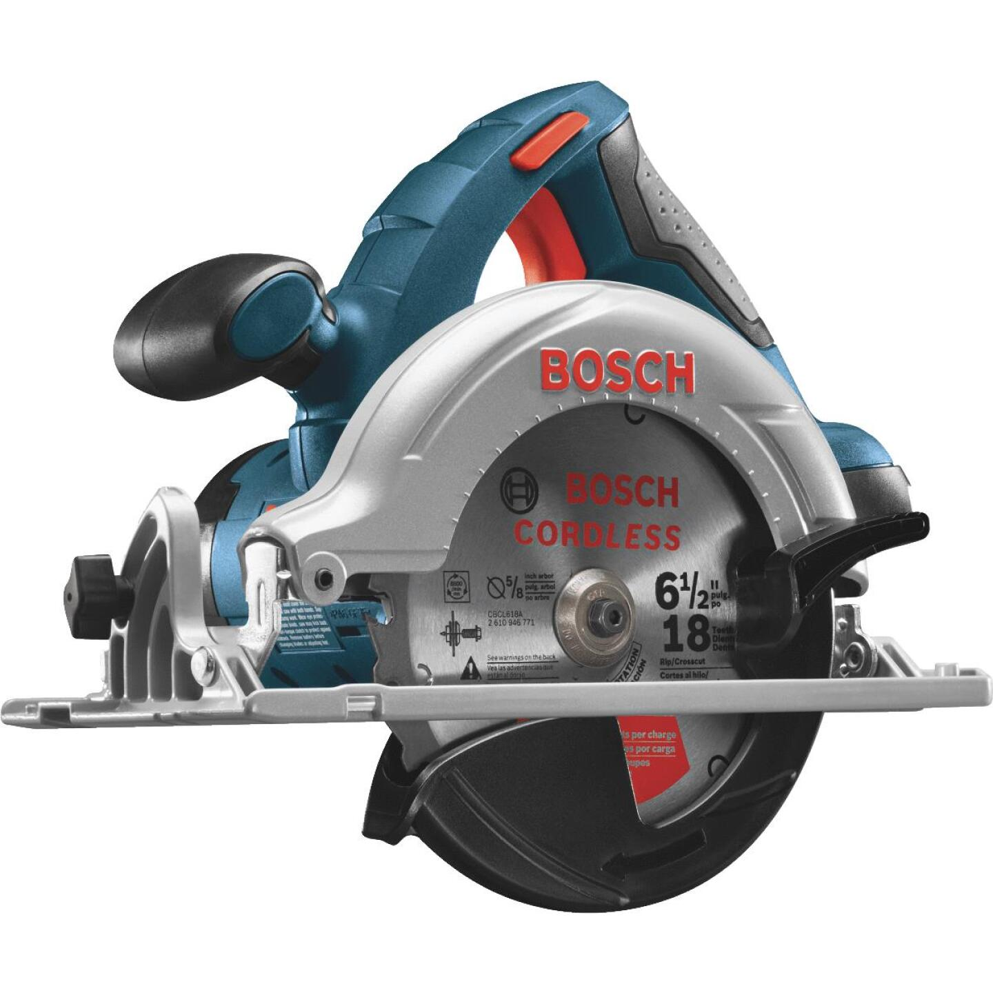 Bosch 18 Volt Lithium-Ion 6-1/2 In. Cordless Circular Saw (Bare Tool) Image 1