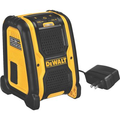 DeWalt 12 Volt/20 Volt MAX Lithium-Ion 100 Ft. Cordless Bluetooth Speaker (Bare Tool)