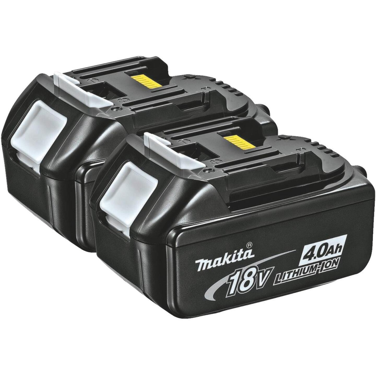 Makita 18 Volt LXT Lithium-Ion 4.0 Ah Tool Battery (2-Pack) Image 1