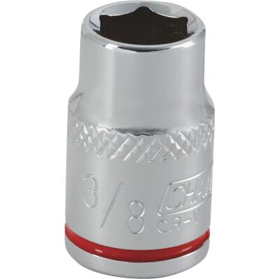 Channellock 3/8 In. Drive 3/8 In. 6-Point Shallow Standard Socket