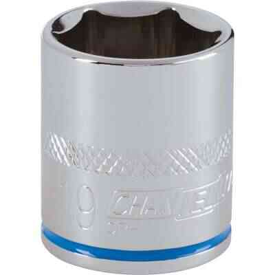 Channellock 3/8 In. Drive 19 mm 6-Point Shallow Metric Socket