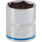 Channellock 3/8 In. Drive 21 mm 6-Point Shallow Metric Socket Image 1