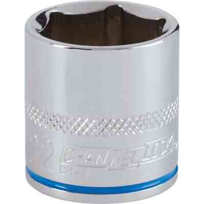 Channellock 3/8 In. Drive 22 mm 6-Point Shallow Metric Socket