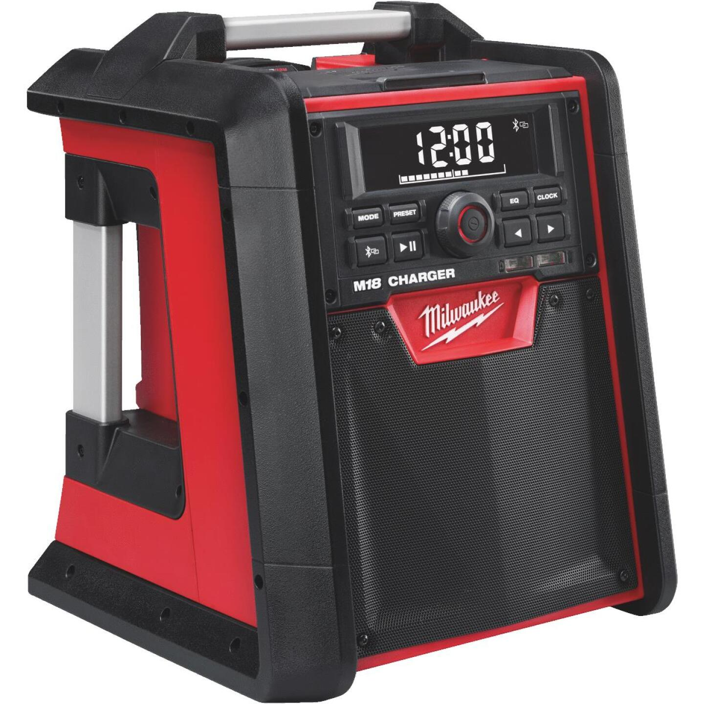 Milwaukee M18 18-Volt Lithium-Ion Bluetooth Cordless Jobsite Radio and Battery Charger (Bare Tool) Image 3