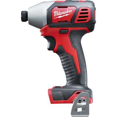 Milwaukee M18 18 Volt Lithium-Ion 2-Speed 1/4 In. Hex Cordless Impact Driver (Bare Tool)