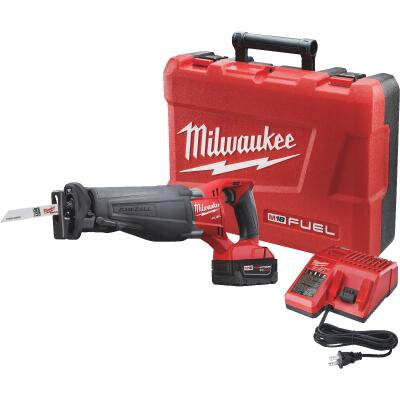 Milwaukee Sawzall M18 FUEL 18-Volt Lithium-Ion Brushless Cordless Reciprocating Saw Kit