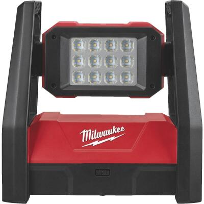 Milwaukee M18 ROVER 18 Volt Lithium-Ion LED Dual Power Corded/Cordless Work Light (Bare Tool)